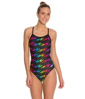 Dolfin Winners Bolt V-2 Back Prints One Piece