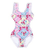 Seafolly Girls Liberty Lane Tank One Piece (2-7)