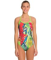Hardcore Swim Women's Hula X Back One Piece Swimsuit
