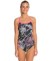 Hardcore Swim Women's Thorns Cali Back One Piece Swimsuit