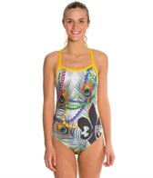 Hardcore Swim Women's Mardi Gras Cali Back One Piece Swimsuit