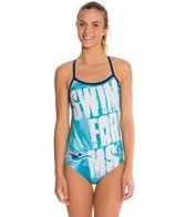 Hardcore Swim Women's Swim for MS Cali Back Swimsuit