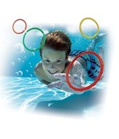 Prime Time Toys Dive 'N Grab Dizzy Dive Rings