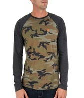 Billabong Men's Camo Raglan L/S Tee