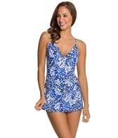 Jag South Pacific Surplice Swim Dress