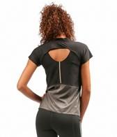 New Balance Women's Boylston Short Sleeve Running Top