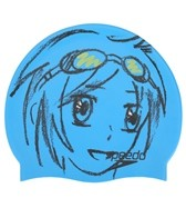 Speedo Manga Mix Silicone Swim Cap