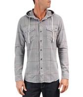 Reef Men's Greenbush L/S Hooded Shirt