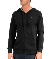 Hurley Men's Flammo Solid Zip Up Hoodie
