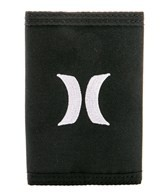 Hurley Men's Honor Roll Tri-Fold Wallet