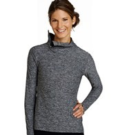 Oiselle Women's Lux Side Zip L/S Run Top