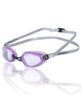 Aqua Sphere K-180+ Ladies Goggle, Clear Lens, Purple & Silver