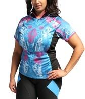Shebeest Women's Bellissima Wings Plus Size Cycling Jersey