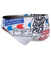 HARDCORESPORT Men's Postal Water Polo Brief