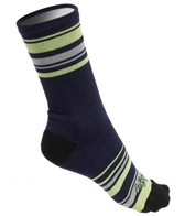 Sockguy Lime Stripes 6 Wool Socks