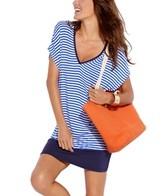 Jag Bel-Air Stripe Pull On Dress