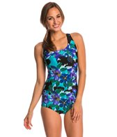 Waterpro Rose Flex Back Conservative Fitness Suit