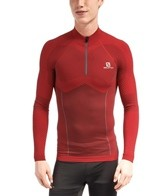 Salomon Men's Exo Motion Running L/S Zip Tee