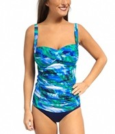 Ceeb Bimini Center Ruched Top