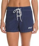 Girls4Sport Snag-Free Short Solid Boardshort