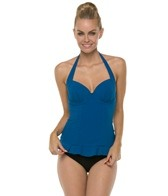 Profile by Gottex Starlet Underwire D-Cup Halter Tankini Top