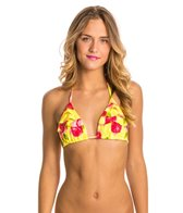 Body Glove Roses Are Yellow Simply Fun Triangle Top
