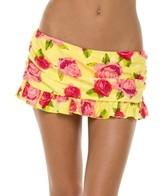 Body Glove Roses Are Yellow Hula Skirted Bottom