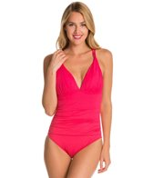 La Blanca OTS Skirted Sweetheart One Piece