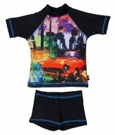 Tiger Joe Boys' Summer Vacation Rashguard Set (6-24mos)