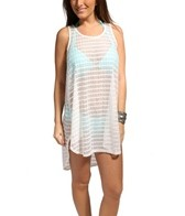 Jordan Taylor Marlin Chevron Hi-Lo Tank Dress
