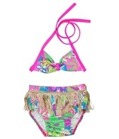 Shebop Girls' Hula Diaper Swim Set (12-30lbs)
