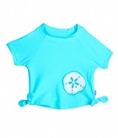iPlay Girls' Mix 'n Match Bow S/S Rashguard (6mos-3yrs)