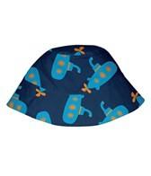 iPlay Boys' Navy Submarine Sun Protection Hat (0mos-4yrs)
