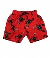 iPlay Boys' Red Scorpion Swim Diaper Pocket Trunks (6mos-4yrs)