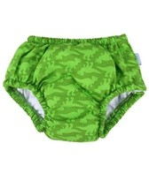 iPlay Boys' Lime Geo Dino Snap Swim Diaper (6mos-4yrs)