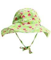 iPlay Girls' Lime Cupcakes Floppy Brim Sun Protection Hat (0mos-4yrs)