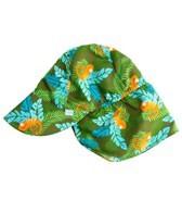 iPlay Boys' Olive Chameleon Flap Sun Protection Hat (0mos-4yrs)