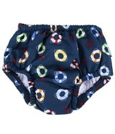 iPlay Boys' Navy Lifesaver Snap Swim Diaper (0mos-4yrs)