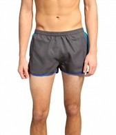 Sauvage Men's Charcoal Splice Swimmer Short