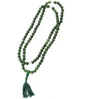 Green Agate Mala