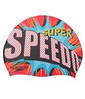 Speedo Boom Pow Silicone Swim Cap