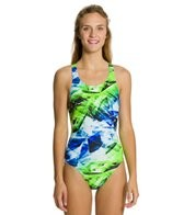 Nike Swim Kaleidotech Power Back Tank