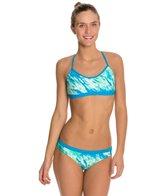 Nike Swim Acid Wash Adjustable Sport Top 2 PC