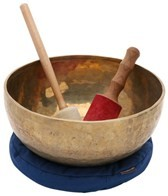 Sacred Space Hand Hammered Tibetan Singing Bowl 14