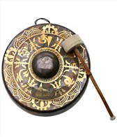 Sacred Space Premium Burnished Himalayan Temple Nipple Gong 14
