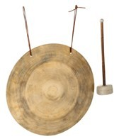 Sacred Space XLarge Burnished Himalayan Wing Gong 16