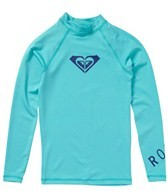 Roxy Girls' Whole Hearted L/S Rashguard
