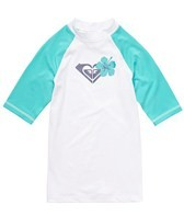 Roxy Girls' Island Fever S/S Rashguard