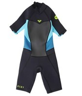 Roxy Girls' 2/2MM Syncro Back Zip Spring Suit