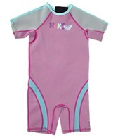 Roxy Girls' 1.5MM Syncro Back Zip Spring Suit